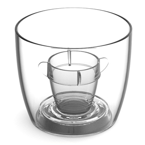 Bomber Cups Clear 3.8oz / 108ml