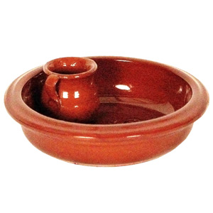 Emilio Terracotta Olive Dish Brown
