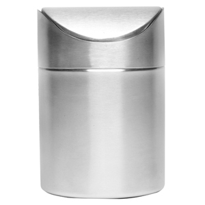 Stainless Steel Table Bin 16.5cm x 11.5cm
