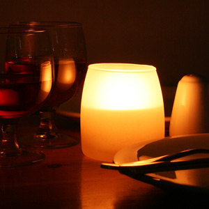 Spaas Soft Glow Wax Filled Glass Candles