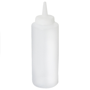 Genware Squeeze Bottle Clear 12oz / 35cl