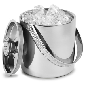Stainless Steel Double Walled Watchband Ice Bucket