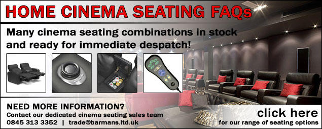 Home Cinema Seating