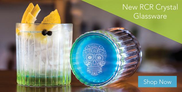 New RCR Crystal Glassware