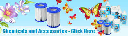 Lay Z Spa Chemicals & Accessories for keeping your spa at its best!