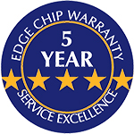 5 Year Edge Chip Warranty