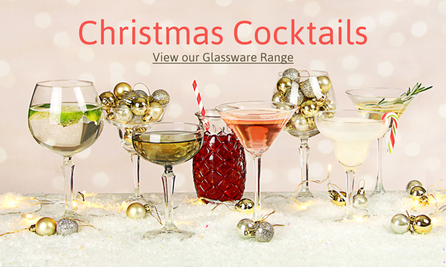 Christmas Cocktail Glasses
