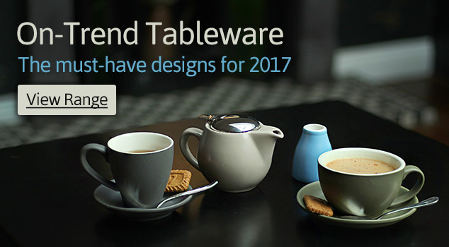 On-Trend Tableware for 2017