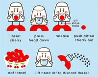 Cherry Chomper Instructions