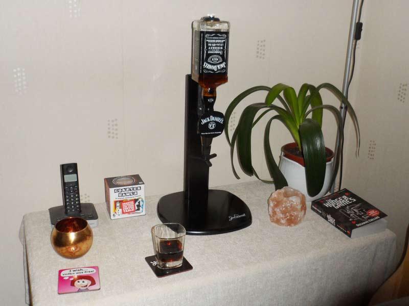 Jack Daniel S Spirit Dispenser On