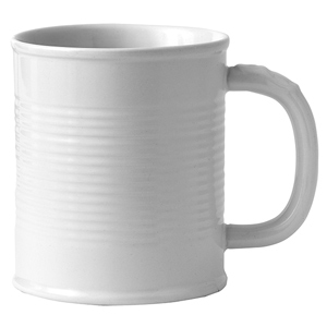 Tin Can Mug White 12.3oz / 350ml