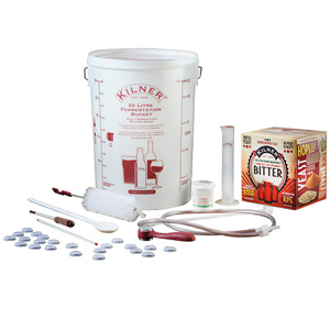 Kilner Drink Works Complete 40 Pint Bitter Home Brew Kit