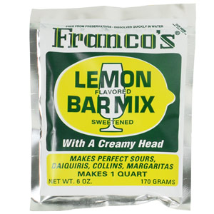 Franco's Lemon Cocktail Mix 170g