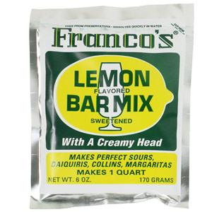 Franco's Lemon Cocktail Mix 170g