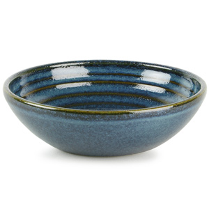 Churchill Bit on the Side Ripple Dip Dish Sapphire 5oz / 140ml