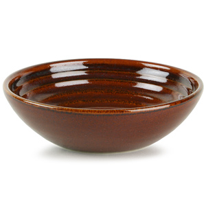 Churchill Bit on the Side Ripple Dip Dish Cinnamon 5oz / 140ml