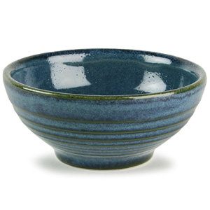 Churchill Bit on the Side Ripple Snack Bowl Sapphire 6oz / 170ml