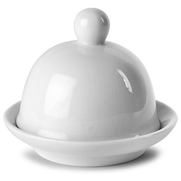 Moonlight Round Covered Butter Dish 9 X 6 5cm Butter Pat