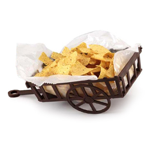 Welcome Wagon Nacho Basket