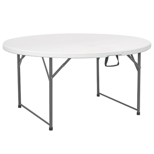 Centre Folding Round Table 5ft