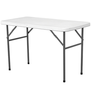 Solid Top Folding Table 4ft
