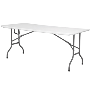 Centre Folding Table 6ft
