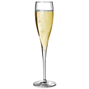 Luigi Bormioli Vinoteque Perlage Champagne Flutes 6.3oz / 180ml (Pack of 6) Image