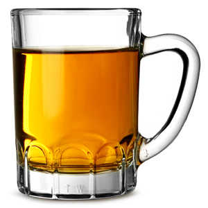 Sunray Mini Glass Tankards 3.2oz / 90ml