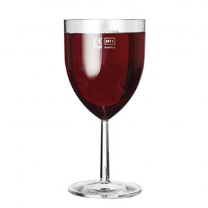 Celebrity Polycarbonate Wine Glasses 10.5oz LCE at 250ml