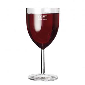 Celebrity Polycarbonate Wine Glasses 10.5oz LCE at 250ml
