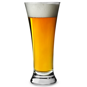 Euro Pilsner Nucleated Beer Glasses CE 10oz / 285ml