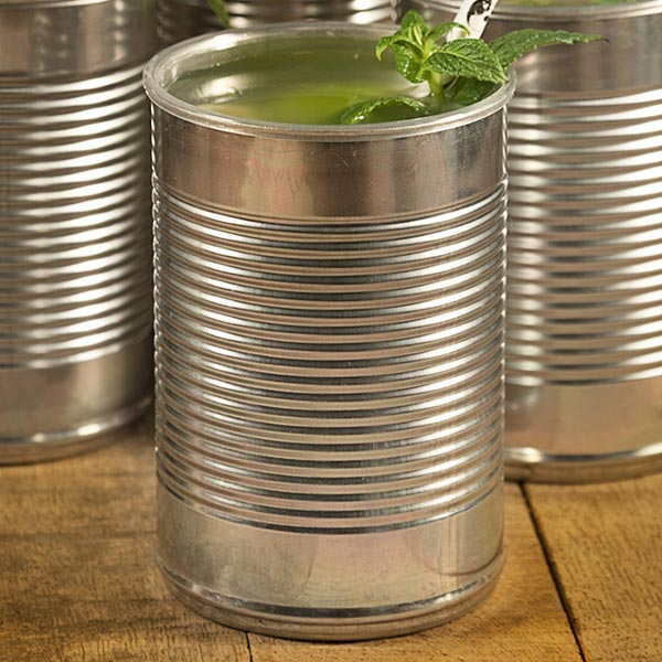 Baked Bean Tin Can Cocktail Cup 10oz 280ml Drinkstuff