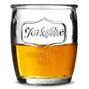 Yorkshire Medallion Shot Glasses 3.5oz / 100ml