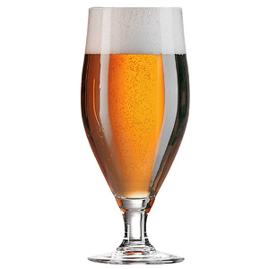 Cervoise Beer Glasses 500ml LCE at 2/3rd Pint