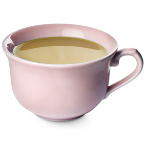 Churchill Vintage Café Tea Cup Pink 10oz / 280ml