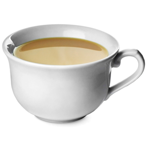 Churchill Vintage Café Tea Cup White 10oz / 280ml