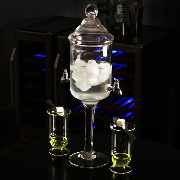 Glass Absinthe Fountain. Glasses ...