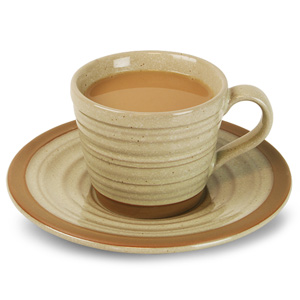 Art de Cuisine Igneous Tea Cup & Saucer 8oz / 250ml