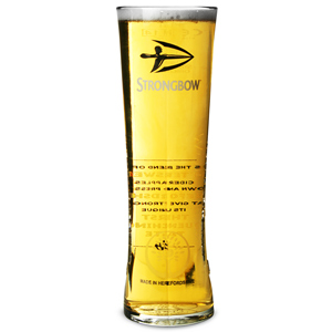 Strongbow Heritage Pint Glasses CE 20oz / 568ml