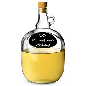 Moonshine Jug with Chalkboard Front 109oz / 3.2ltr