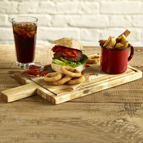 Can You Serve Food On Acacia Wood
