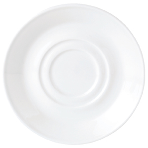 Steelite Simplicity Double Well Saucer White 14.5cm