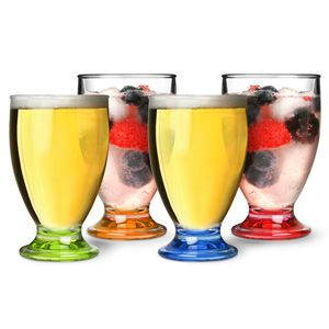Flamefield Acrylic Party Juice Glasses 6oz / 170ml