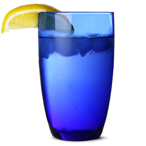 Cobalt Blue Hiball Glasses 15.5oz / 450ml