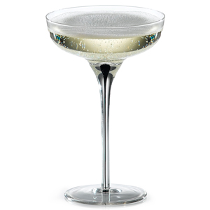 Murano Champagne Coupe Glasses 6.5oz / 185ml