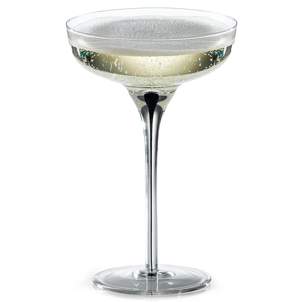 murano champagne coupe glasses drinkstuff. Black Bedroom Furniture Sets. Home Design Ideas