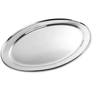 Stainless Steel Oval Meat Flat 650mm