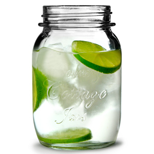 Kentucky Country Drinking Jar 21.5oz / 610ml