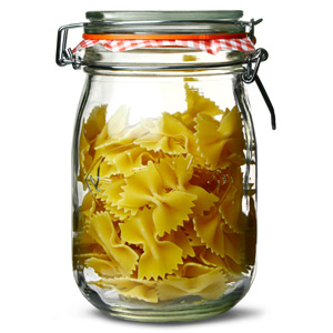 Kilner Round Clip Top Jar 1ltr