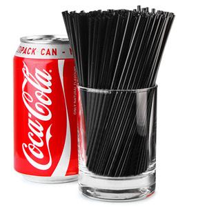 Sip Straws 5inch Black
